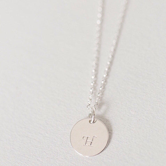 Initial necklace - Savi Jewelry