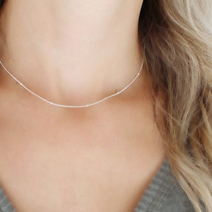 Barely there necklace