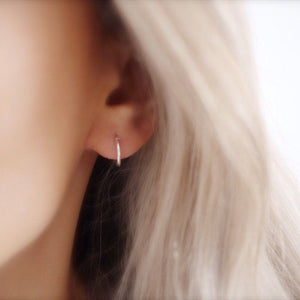 Tiny Hoops - Savi Jewelry