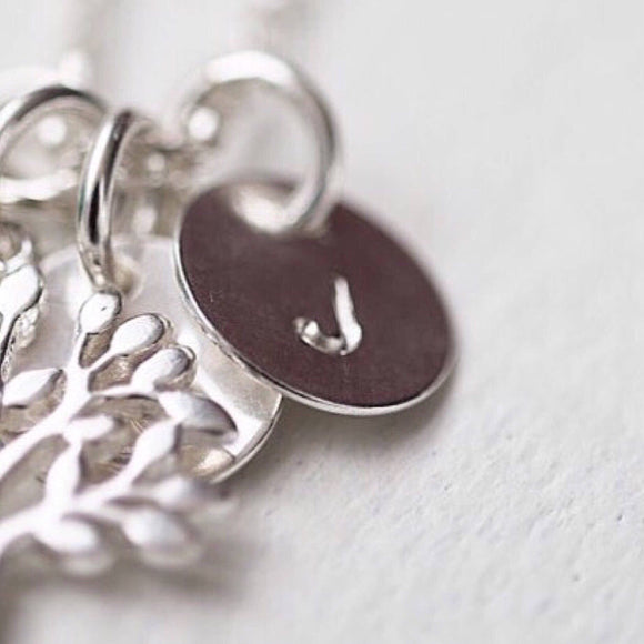 Personalized Hand Stamped Charm - Savi Jewelry