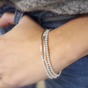 Bar bracelet set - Savi Jewelry