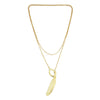 Amalia Feather Layered Necklace