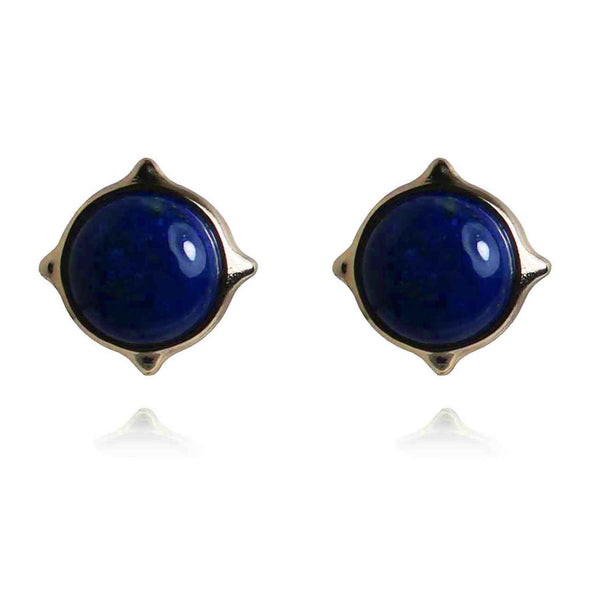 Bianca Gemstone Stud Earrings