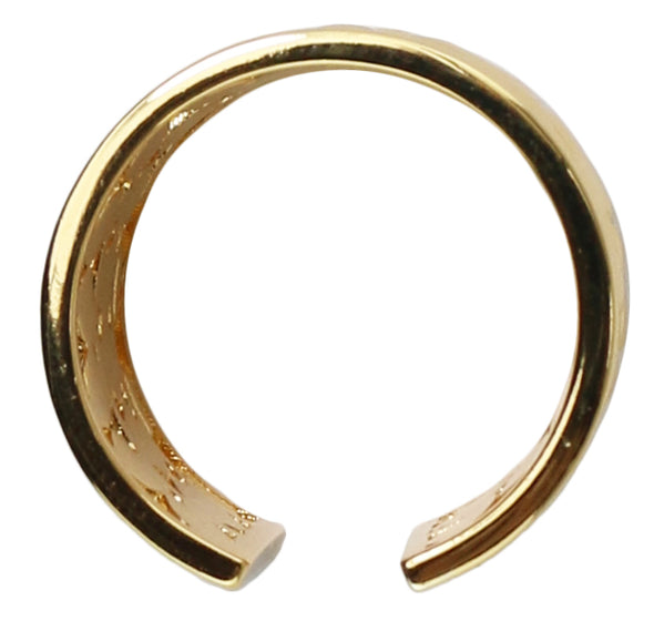 Wide Band Open Ring