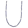 Camila Lapis Long Beaded Necklace