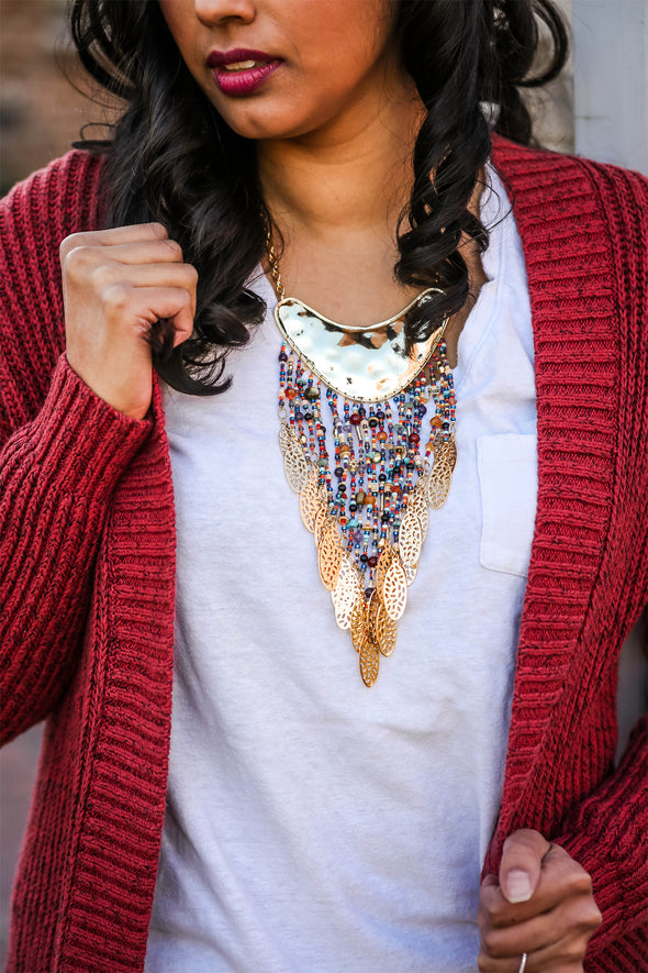 Sofia Statement Necklace