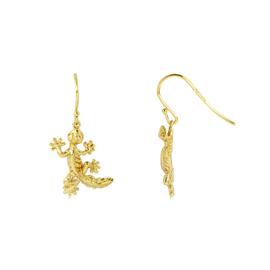 Laura Gecko Dangle Earrings