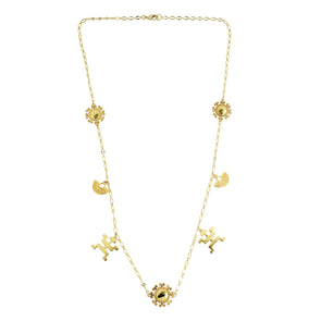 Paola Charm Necklace