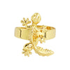 Laura Gecko Adjustable Ring