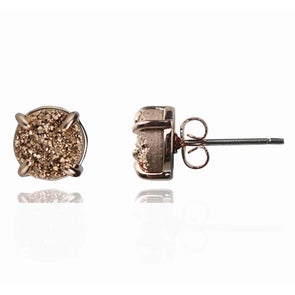 Renata Druzy Stud Earrings