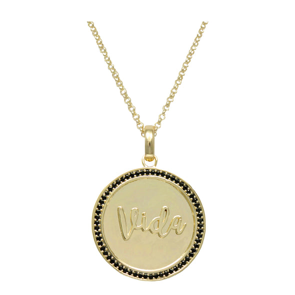 Maria Vida Pendant Adjustable Necklace