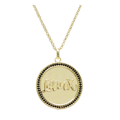 Maria LatinX Pendant Adjustable Necklace
