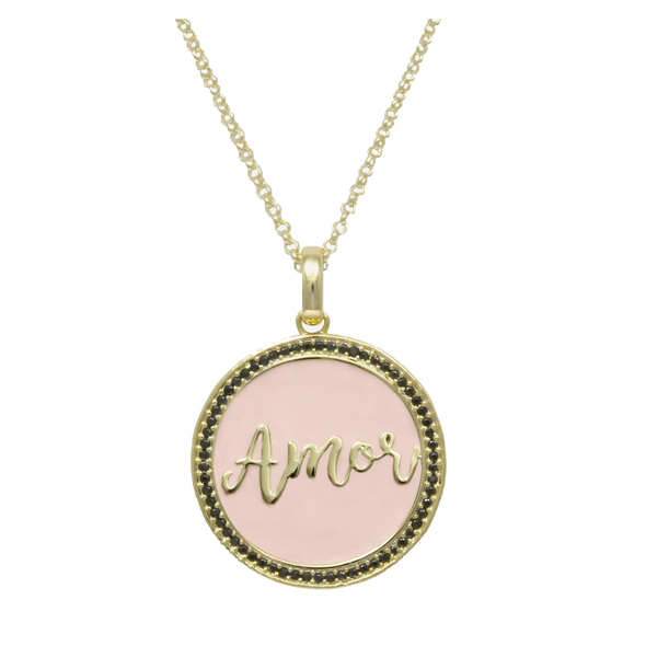 Maria Amor Pendant Adjustable Necklace