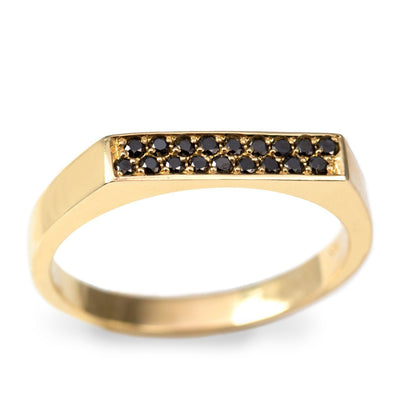 charlotte ring black diamonds