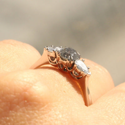 white gold emma ring HOTCROWN