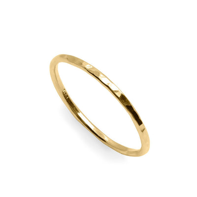 gold wedding band linda