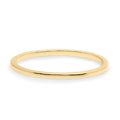 simple classic gold wedding ring