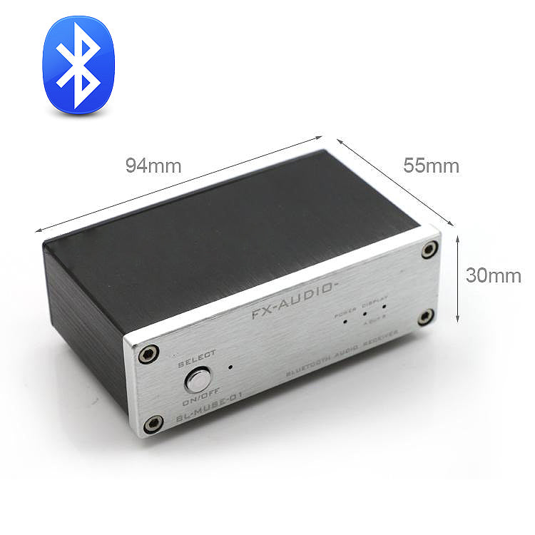 FX-AUDIO Bluetooth Audio Receiver Fiber Coaxial Output Can Connected Pure Digital Amplifier