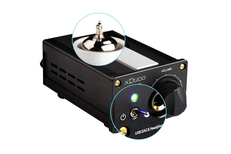 XDUOO TA-01B 12AU7 Tubes Amplifier High Performance HIFI USB DAC Tube Headphone Amplifier