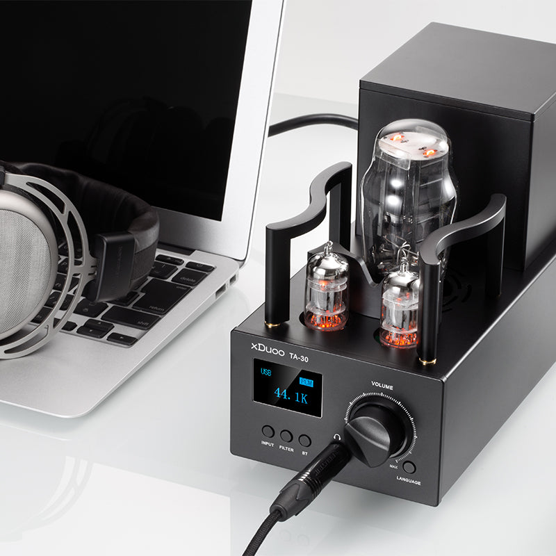XDUOO TA-30 ES9038Q2M HD Bluetooth High Performance DSD512 DAC Tube Headphone Amplifier