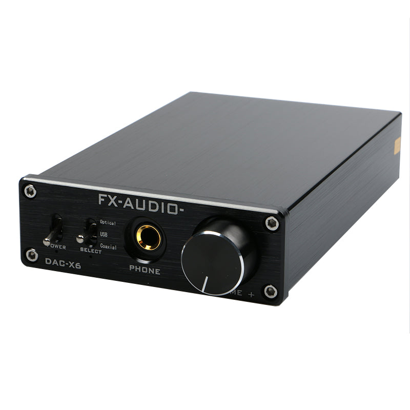 FX-AUDIO DAC-X6 MINI HiFi 2.0 Digital Audio Decoder USB DAC Headphone Amplifiers