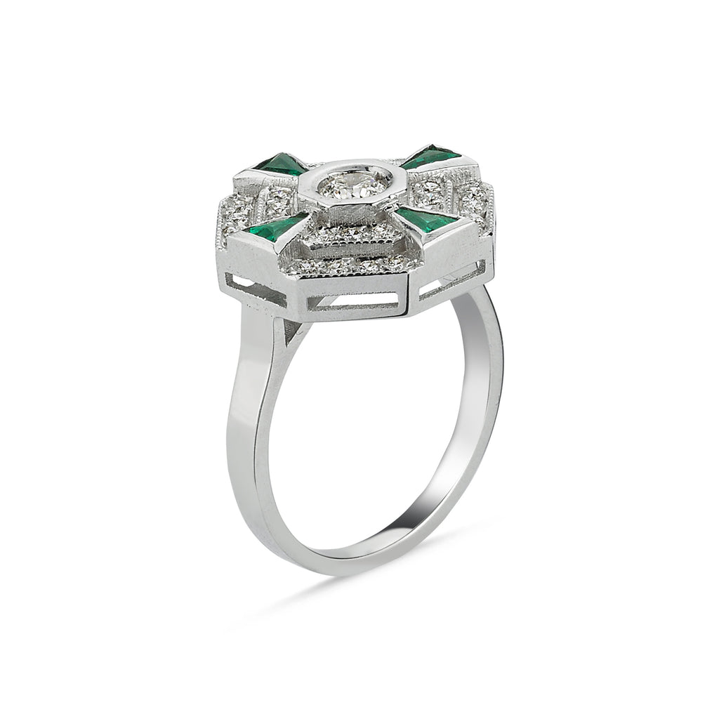PARIS TSAVORITE RING