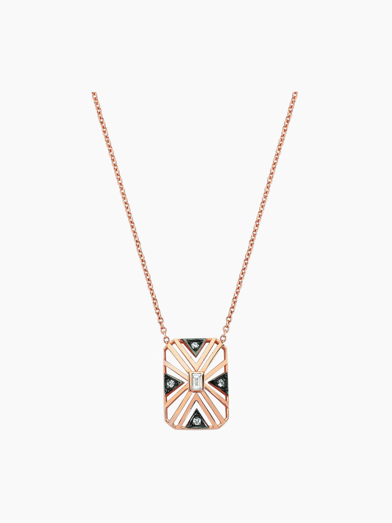 GEOMETRIA DIAMOND NECKLACE
