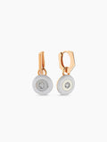 MATISSE CIRCLE DIAMOND EARRINGS