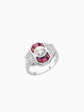 PARIS LARGE RUBY RING