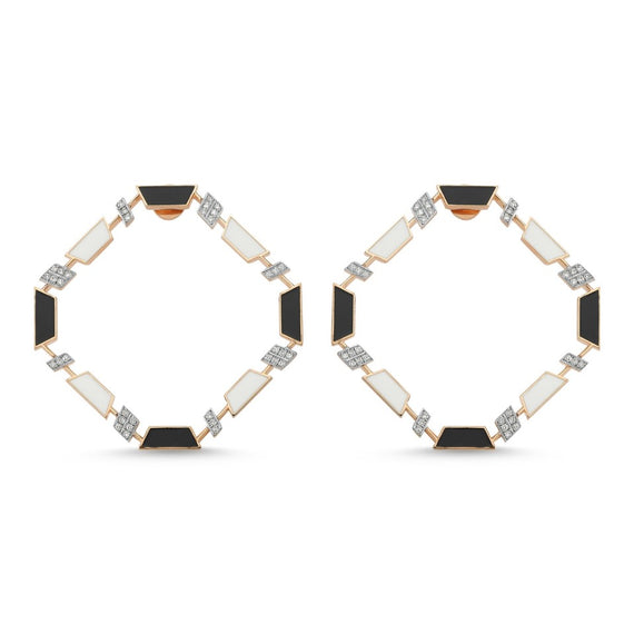 DEEP SPACE DIAMOND EARRINGS