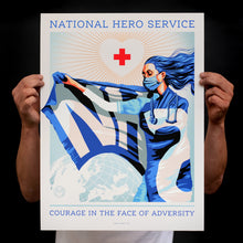 Load image into Gallery viewer, National Hero Service [Charity Print]