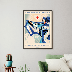 National Hero Service [Charity Print]