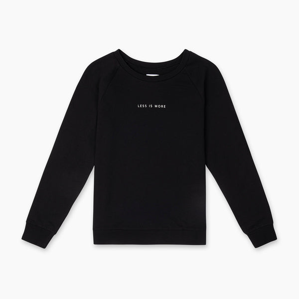 The Natty Less Is More Sweater - Black