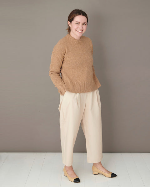 The Natty Women's Beige Culottes