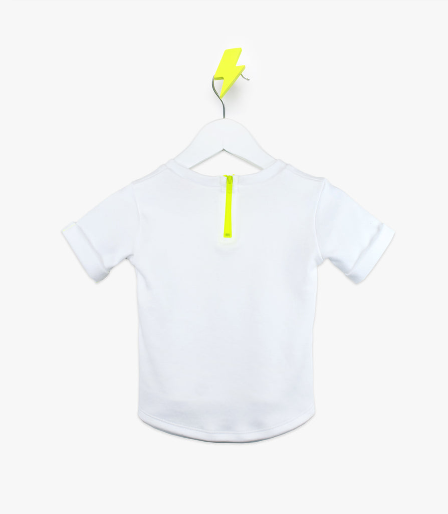 Short Sleeve V-Tee in Yellow - The Urban Nursery