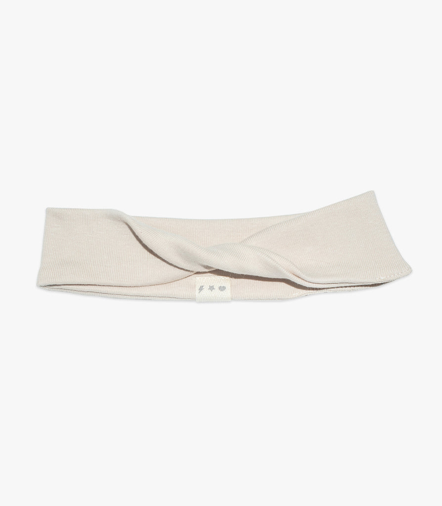 Twisted Headband in Cream - The Urban Nursery