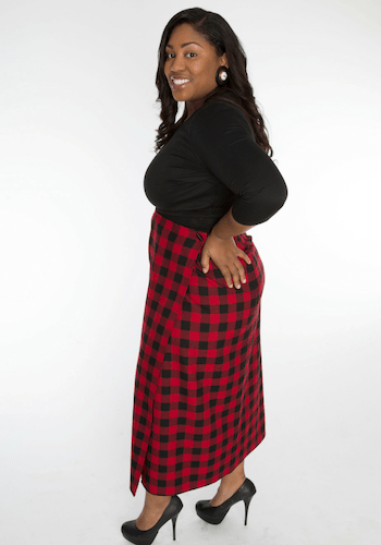 The Plaid Maxi Skirt