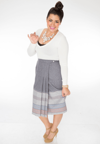 The Angela Wrap Skirt