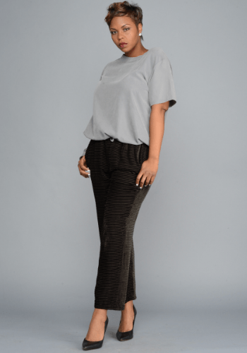 The Casual Silk Pant
