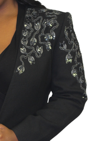 The Embellished Blazer