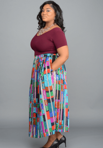 The Colorful Circle Skirt