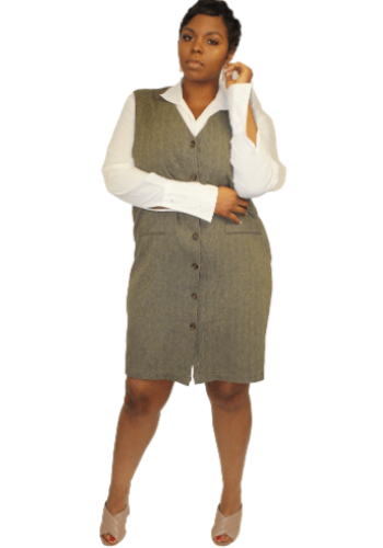 The Pinafore Dress