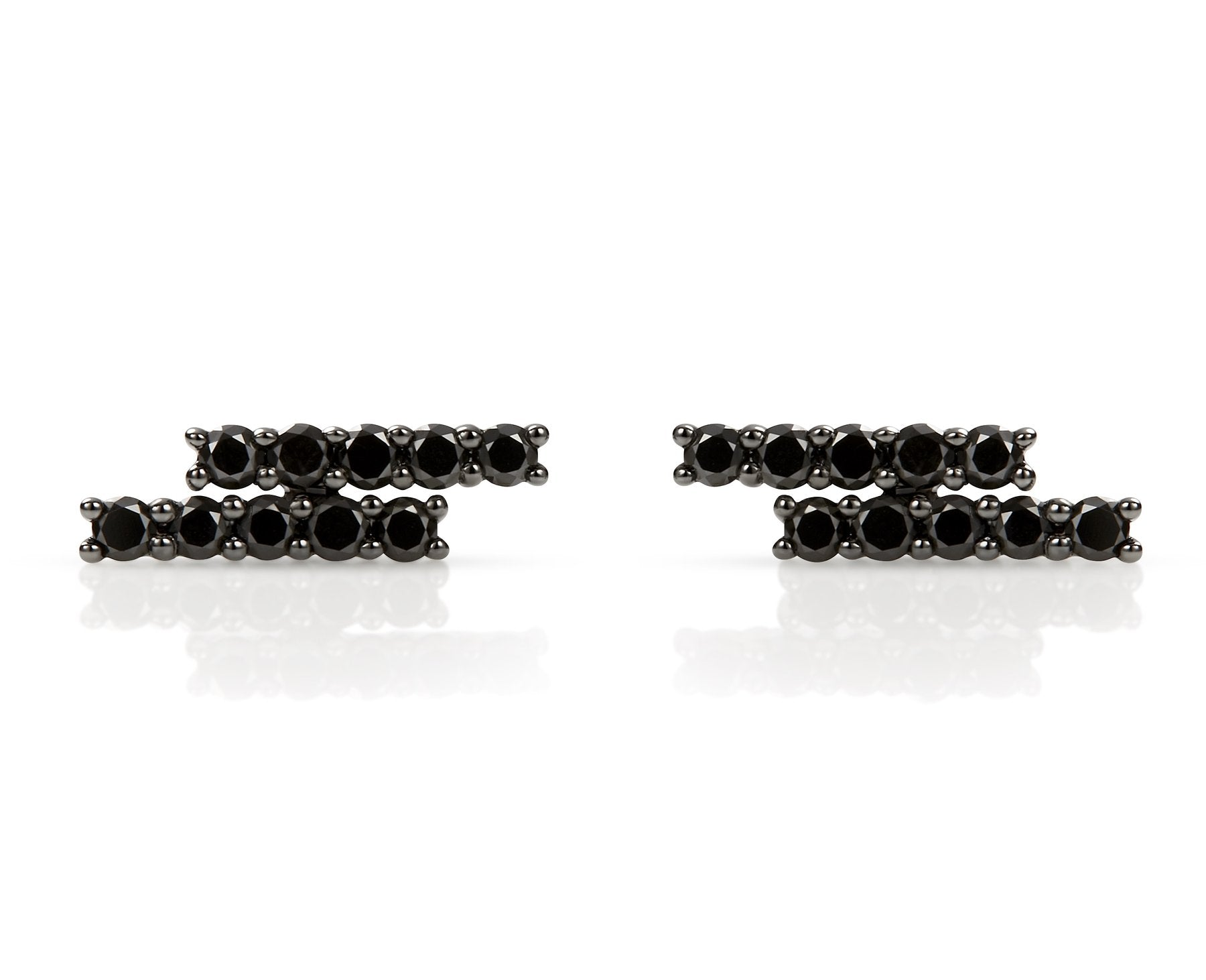 MALA Black Diamond Stud