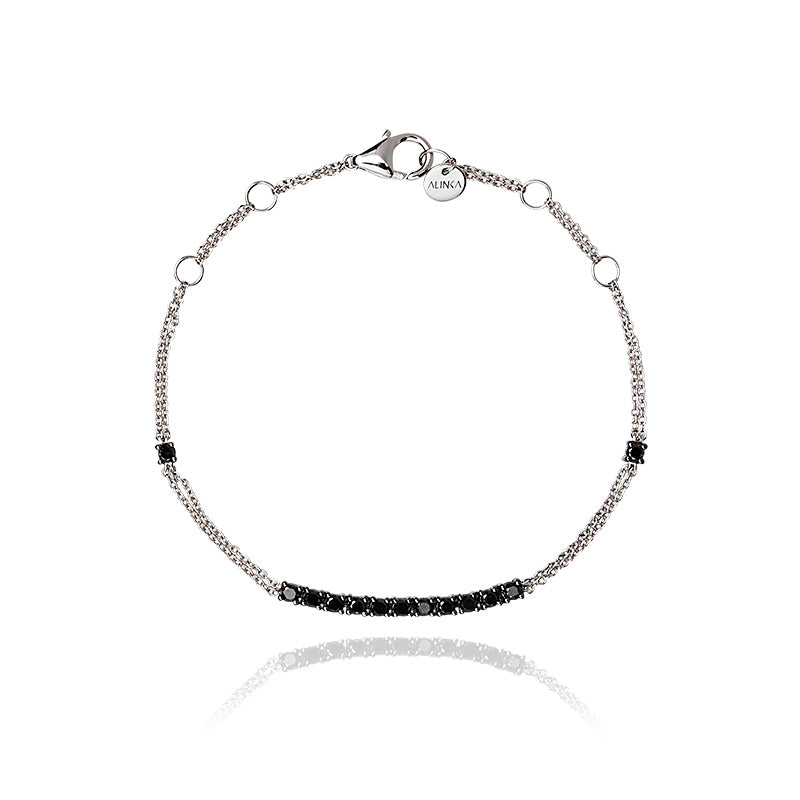 RIVIERA Black Diamond Bracelet