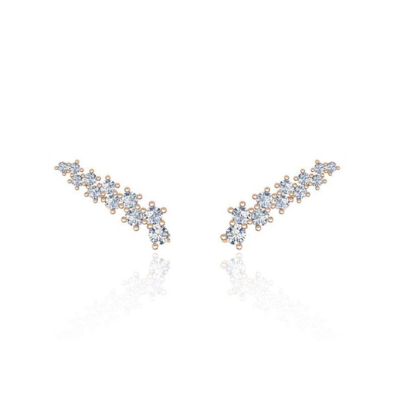 EVA Superfine Diamond Ear Cuff