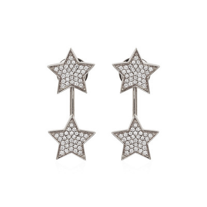 STASIA Multiwear Diamond Drop Stud