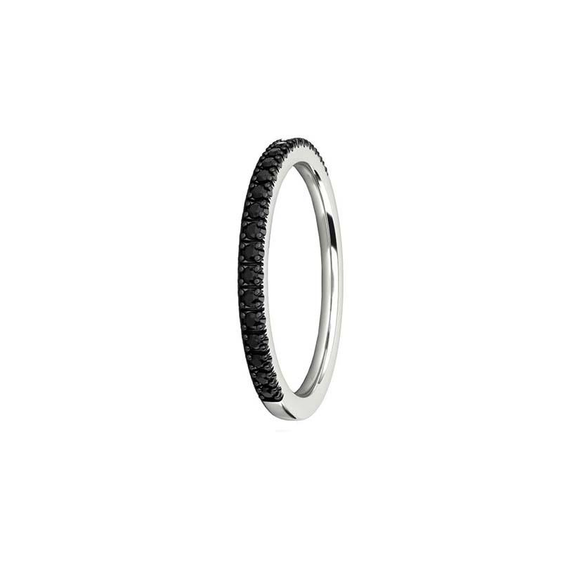 ETERNITY SUPERFINE Full Surround Black Diamond Ring