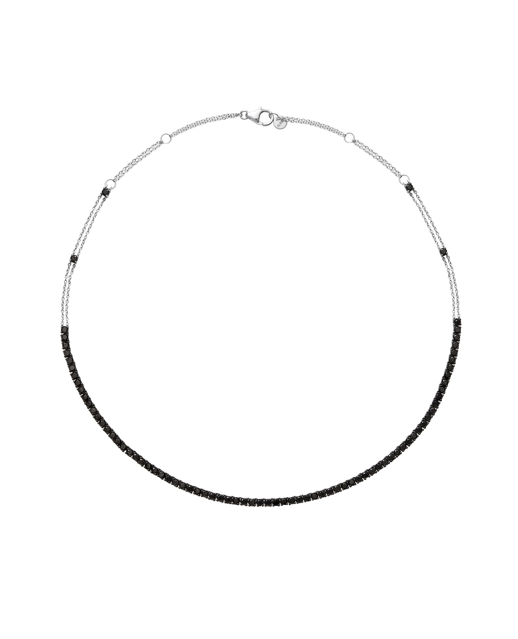 RIVIERA Black Diamond Necklace 8.00ct