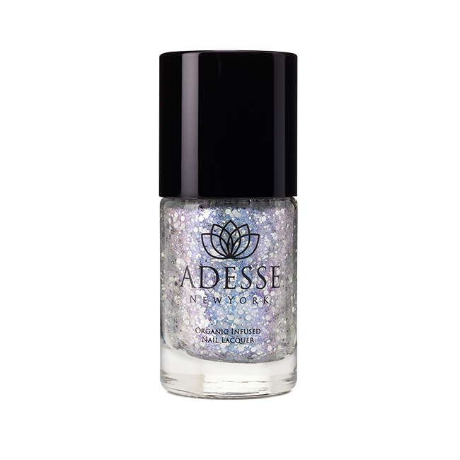 Glitter Nail Lacquer - Snow on the Lilacs