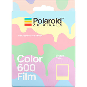 [Limited Stock/ Discontinuous] Polaroid Originals Color 600 Instant Film (Ice Cream Pastels Edition, 8 Exposures)